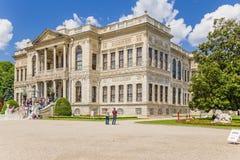 Istambul, Turquia A entrada principal do palácio de Dolmabahce Fotografia de Stock Royalty Free