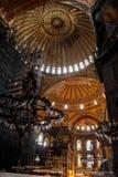 Istambul, Turquia Interior e exterior de Hagia Sophia fotos de stock royalty free