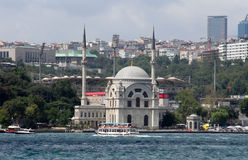 Istambul view. This is a view of Istambul. July 28, 2012. Istambul, Turkey stock images