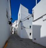 Istan是马拉加省的一个美丽的镇在安大路西亚,南西班牙 库存照片