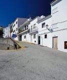 Istan är en härlig stad i det Malaga landskapet i Andalusia, sydliga Spanien Arkivbild