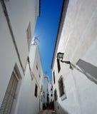 Istan är en härlig stad i det Malaga landskapet i Andalusia, sydliga Spanien Arkivbilder