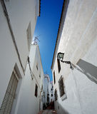 Istan é uma cidade bonita na província de Malaga na Andaluzia, Espanha do sul Imagens de Stock