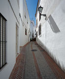 Istan is a beautiful town in the Malaga province in Andalusia, Southern Spain Stock Photo