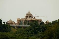 Istana努尔Iman斯里巴加湾市,文莱,亚洲 免版税库存照片