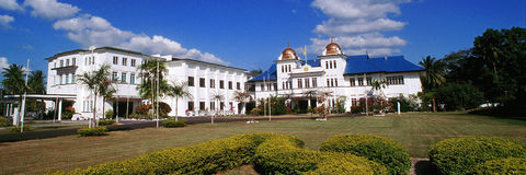 Istana Arau or The Royal Palace of Arau Royalty Free Stock Images