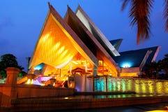 Istana Budaya (palácio da cultura) imagens de stock