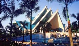 Istana Budaya (palacio de la cultura) foto de archivo