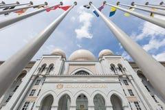 Istana Kehakiman или дворец правосудия Стоковое фото RF