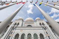 Istana Kehakiman or Palace of Justice Royalty Free Stock Photo