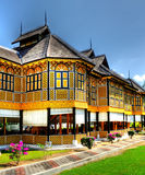 Istana Kenangan. The Istana Kenangan is a charming wooden structure in Kuala Kangsar also known as Muzium Diraja Perak, or Perak Royal Museum. Located at Bukit Royalty Free Stock Images