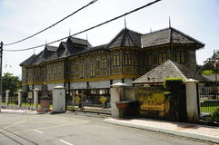 Istana Kenangan (palacio de la conmemoración) en Perak, Malasia Fotografía de archivo