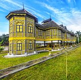 Istana Kenangan - royal residence in Kuala Kangsar in Perak, Mal. KUALA KANGSAR, PERAK, MALAYSIA - FEBRUARY 20, 2017:  Istana Kenangan - royal residence in Kuala Stock Photography