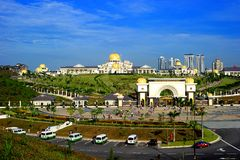 Istana Negara Royalty Free Stock Photo