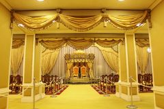 Istana Negara, Jalan Tuanku Abdul Halim Royal Palace royalty-vrije stock foto