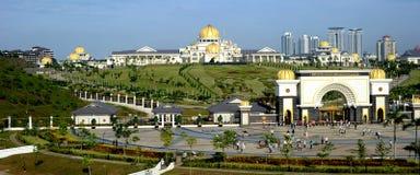Istanaen Negara Jalan Duta arkivbild