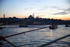 Istanboel is één van de 81 provincies van de stad en het land in Turkije royalty-vrije stock fotografie