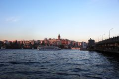Istanboel is één van de 81 steden van de stad en het land in Turkije royalty-vrije stock fotografie