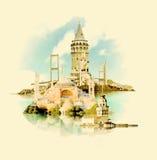 Istanboel Vector Illustratie