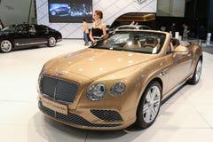Istanboel Autoshow 2015 Royalty-vrije Stock Fotografie