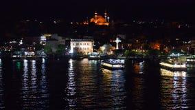 Istanboel bij nacht