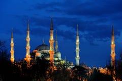 Istanboel. Blauwe Moskee stock afbeeldingen