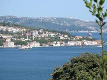 Istanboel Bosphorus Royalty-vrije Stock Foto