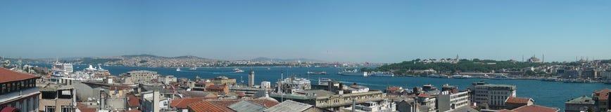 Istanboel Bosphorus Stock Foto's