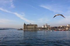 Istanboel Bosphorus - Rumelihisarı royalty-vrije stock afbeelding
