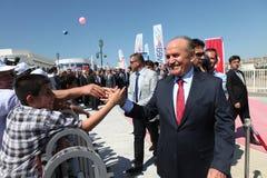 Istanboel Burgemeester Kadir Topbas Royalty-vrije Stock Foto