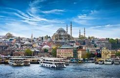 Istanboel de hoofdstad van Turkije stock foto