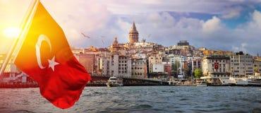 Istanboel de hoofdstad van Turkije royalty-vrije stock fotografie