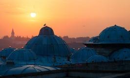 Istanboel de hoofdstad van Turkije, oostelijke toeristenstad Stock Foto