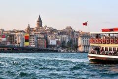 Istanboel, Galata Royalty-vrije Stock Afbeeldingen