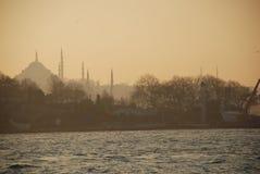 Istanboel is geen Constantinopolis Royalty-vrije Stock Fotografie