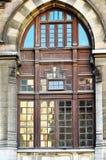 Istanboel 200 jaar van postadministratiesdeur Stock Foto