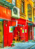 In Istanboel in Turkije Royalty-vrije Stock Foto's