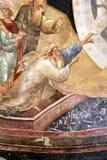 ISTANBOEL, TURKIJE - MAART 25, 2012: Fresko in Kerk van Christus de Verlosser Stock Foto