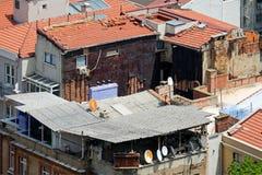 ISTANBOEL, TURKIJE - MEI 24: Mening van gebouwen in Istanboel Stock Fotografie