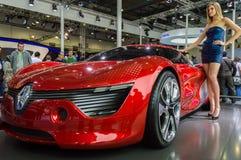 Istanboel, Turkije - November 10, 2012: Istanboel Auto toont 2012 bij TUYAP Stock Foto's