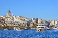 Istanboel, Turkije, 19 Oktober, 2013 Bosphoruscruises Stock Foto