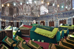 Istanboel, Turkije, 19 Oktober, 2013 Nieuwe moskee (Yeni-tzami) Royalty-vrije Stock Foto