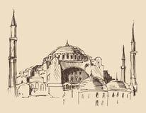 Istanboel, Turkije, stadsarchitectuur Stock Foto's