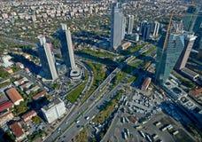 Istanboel van de binnenstad Stock Foto's