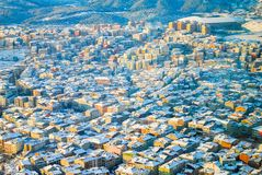 Istanboel vanaf de bovenkant Stock Afbeelding