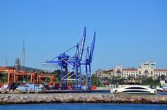 Istanbuł ładunku port Obrazy Royalty Free