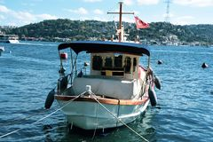 Istanbuł Bosphorus Azja i Europa kontynent fotografia royalty free