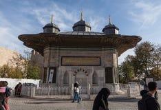 Istanbuł Listopad 2018 indycza kopuła w Osmańskiej architekturze w Istanbuł Turcja zdjęcia royalty free