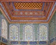 ISTANBUŁ, LISTOPAD - 5: Wnętrze harem w Topkapi pałac Wtajemniczona sala Mehmed IV na Listopadzie 5, 2014 w Istanbuł Obraz Stock