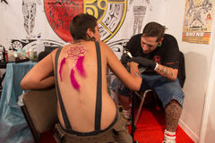 Istanbuł tatuażu konwencja Obraz Royalty Free